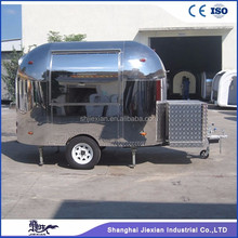 Shanghai JX-BT300 high quality military mobile vending fast food van for sale