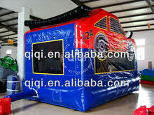 2014 fashion Race Car inflatablebounce houses combo