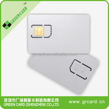 4G LTE blank usim card for 4G network