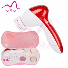 hot sale Electric Rotate Facial Cleansing Kit Face Washing Brush compatible replacement facial cleansing brush