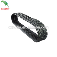 High Quality Rubber Track For Excavator Parts Size 300*109W