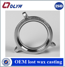 Custom factory foundry stainless steel marine parts lost wax casting