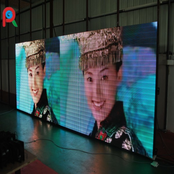 Radiant P10 indoor stage background led display big screen