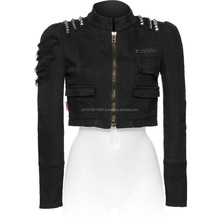 GOTHIC STYLE FASHION JACKET WITH STUDS FOR WOMENS