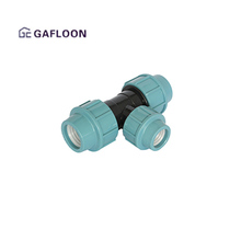 Compression Fitting Female Thread Reducing Pp Tee