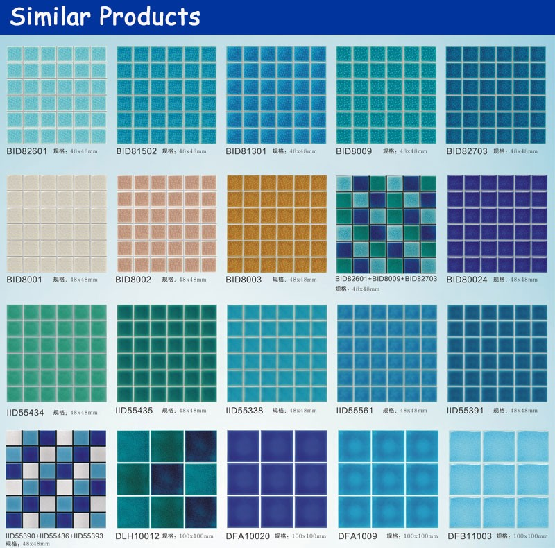 Cheap Antiqued Alibaba Stock 10mm Ceramic Mosaic Art Tiles For ...