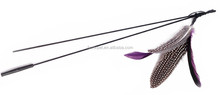 natural feather da bird cat toy, cat wand