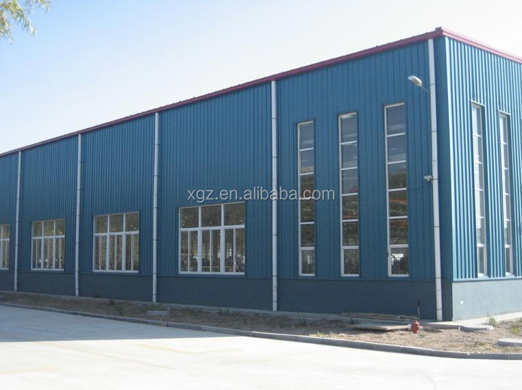 steel frame buildings for warehouse