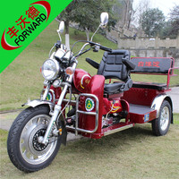 2015 new red two person diesel three wheeler