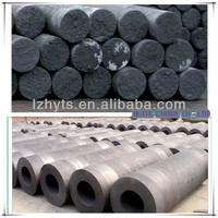 chinese supplier graphite rod blank ,HP uhp shp Graphite ElectrodE WITH NIPPLES