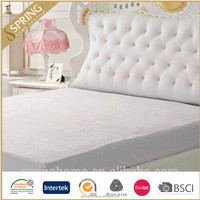 terry pu/pe lamination bed mattress protector/mattress cover/topper/twin/full/queen/king size