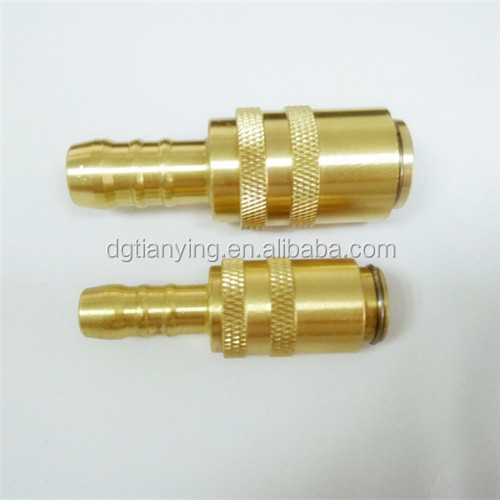 Cooling water pipe euro female quick coupler