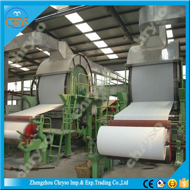 Professional Full Automatic Toilet Paper Perforated and Rewinding Machine Paper Making Machine
