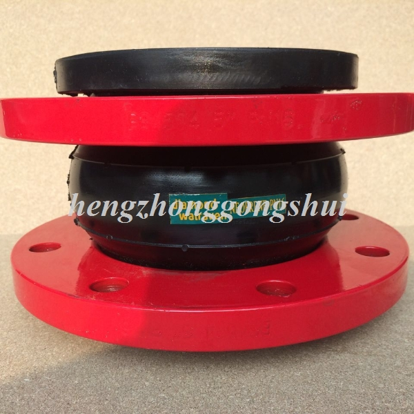 factory price black rubber ball with flanged small stainless steel ball joints