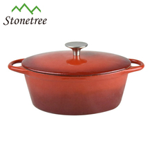 Hot selling Enamel Cast Iron Hot Pots With Raindrop Cover/Cast Iron Casseroles/Cooking Tools/Cookware/ Cocotte