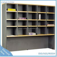 Adjustable-shelves pigeon hole file cabinet