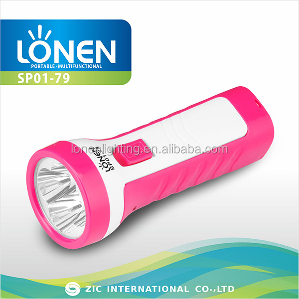 LONEN 4led emergency electric charge mini torch light