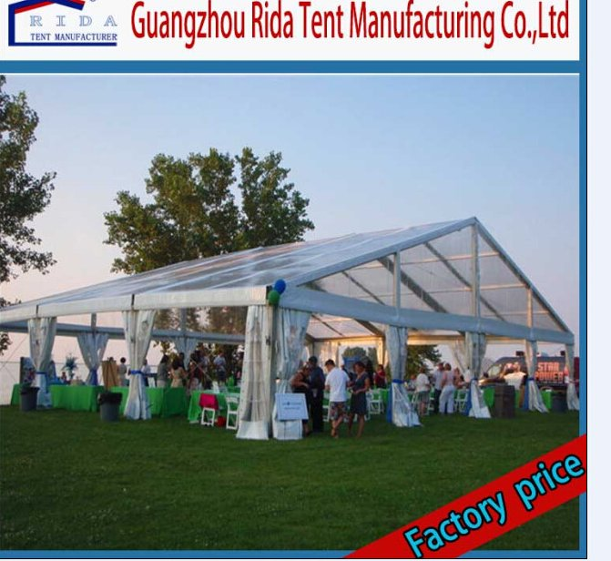 Luxury Wedding Banquet Clear Marquee Tent for Christmas Parties