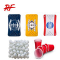 Inflatable Party Barge Floating Beer Pong Table/inflatable pool table