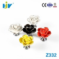 Prime quality floral ceramic door knobs