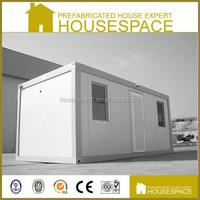 Low-cost Modular Galvanized Prefab Container House 20 ft For Office