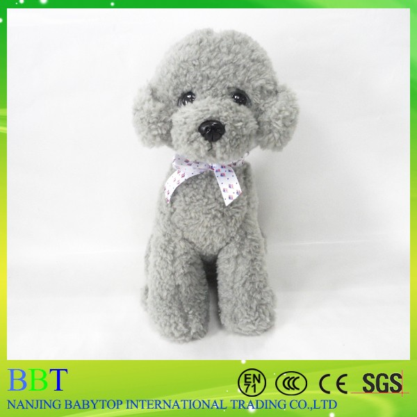 Custome lovely scruffy plush dog toy