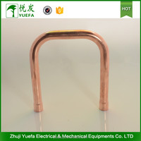 Factory direct sale copper 180 degree long radius elbow