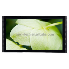 21.5 inch( 22 inch )open frame split screen tft cctv touch screen lcd monitor with VGA+AV input for POS System