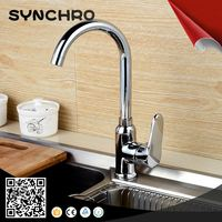 Single handle one funtion kitchen sink tap water faucet