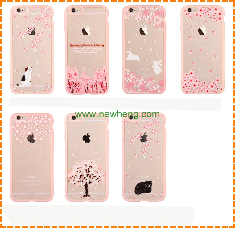 China manufacturer phone case factory custom PC+TPU phone case for iphone 7