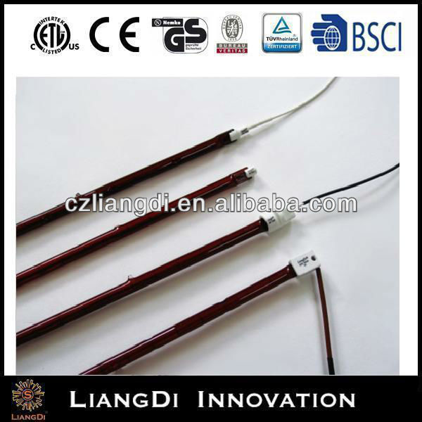 Ruby Infrared Halogen Lamp 24v 250w For Industry Use