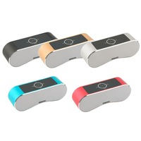 Portable LED Wireless Touch Sensor Bluetooth Speaker HI-FI Sound Music Player
