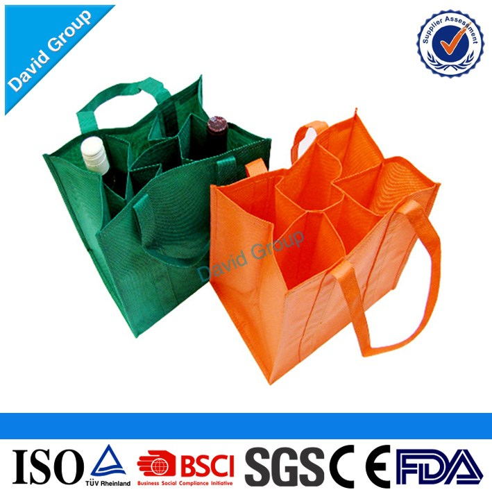 Promotional Customized Logo Printing Recycled custom foldable pp laminated non woven shopping bag non woven fabric bag