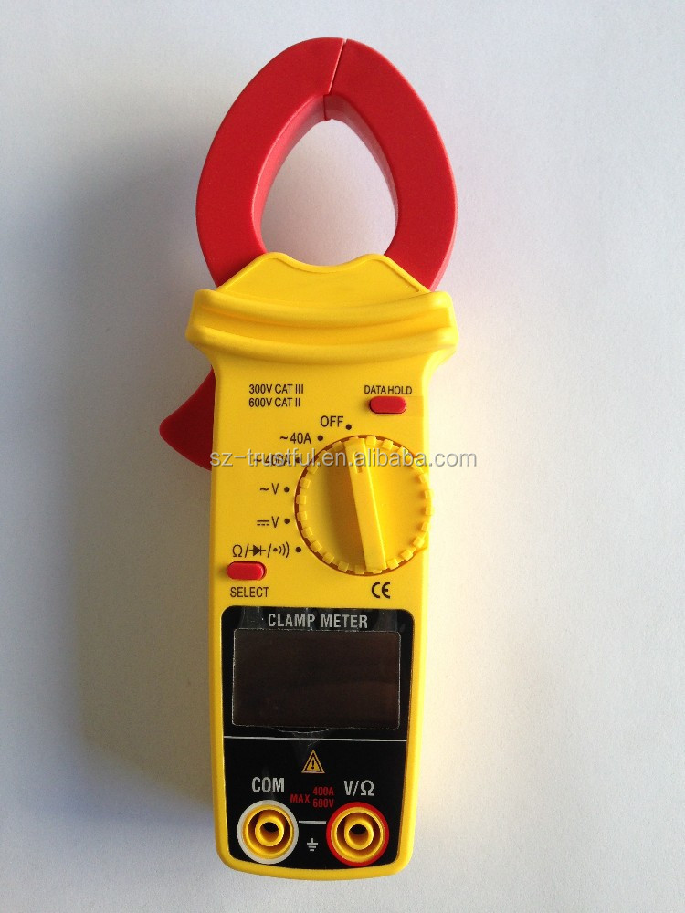 Digital Clamp Meter Digital Multimeter Analog Multimeter VU Meter Electrical tester Alligator clips