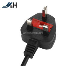 Factory supply 250V 13A UK Standard British Plug BS AC Power Extension Cord