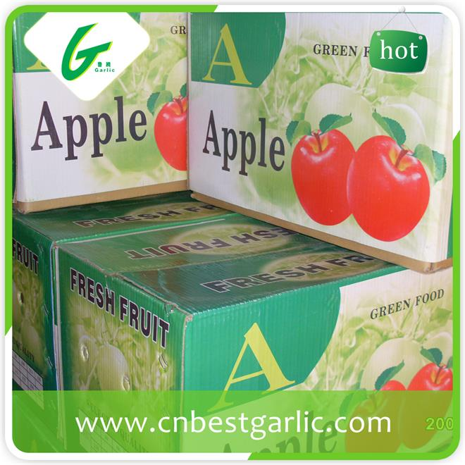 Chinese delicious honey green apples