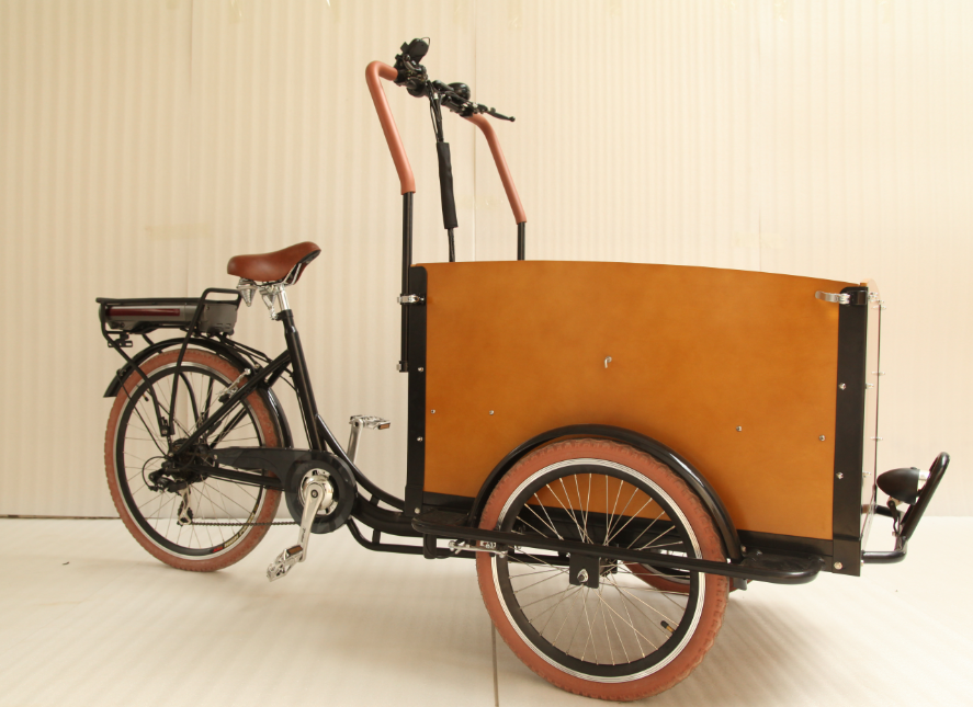 2016 holland style Family electric Cargo Bike bakfiet