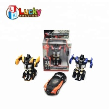 best selling transform kit deformation kid smart change robot car toy with high quality