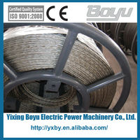 Galvanized steel cable braided steel wire