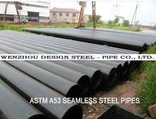 ASTM A53 Seamless Carbon black Steel Pipe & Seamless Steel pipe black coating
