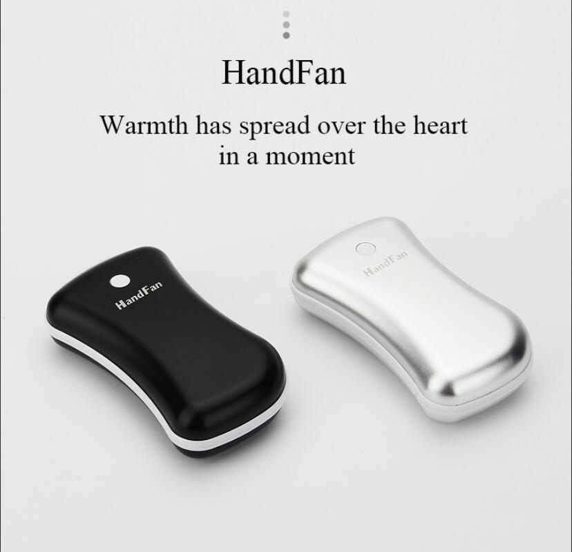 Rechargeable Portable Big Capacity USB 5200mah Pocket Winter Item Hand Warmer Power Bank with KC Battery
