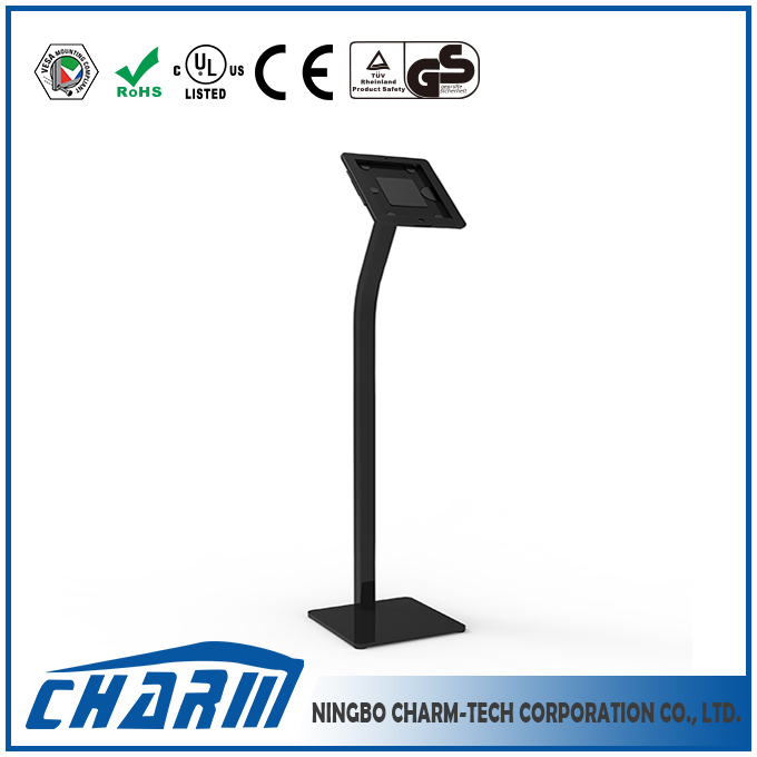 Height adjustable floor pad holder hot sale, cold rolled steel material pad stand holder