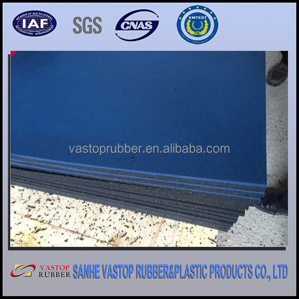Environmently Friendly Recycled Rubber Tire Tiles