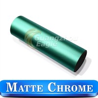 140micron Metallic Chrome Car Wrap Vinyl Leather