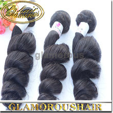Glamorous Recommend Virgin Mongolian Loose Wavy Curly