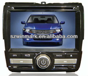"6.2"" double din special car dvd for Honda city"