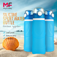 Eco-friendly Silicone Water Bottle / Plastic Bottle Handle