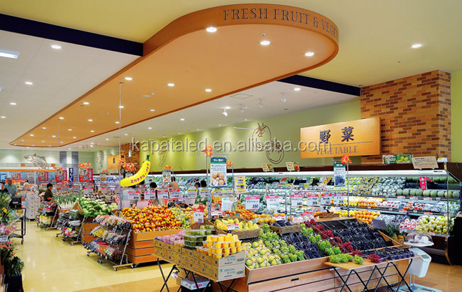 Ra>90 6 inch 30w ceiling led light for bakery supermarket and retail store led downlight