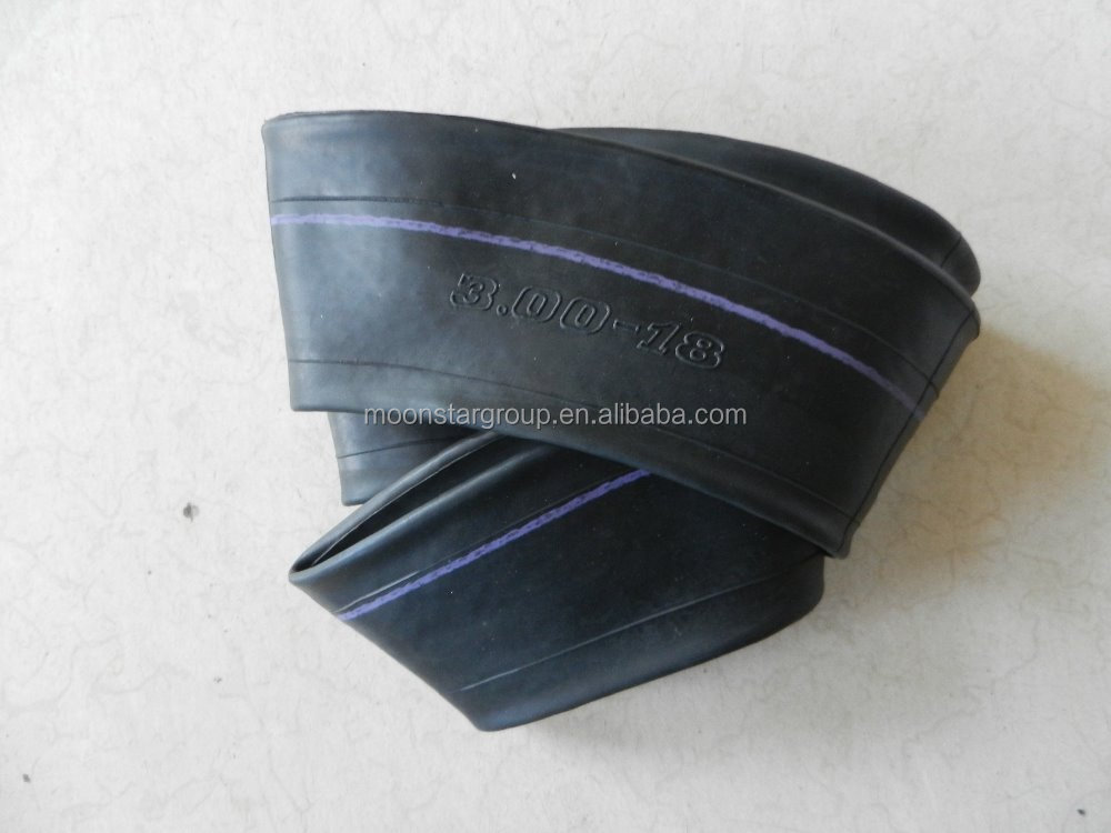 China factory 3.00-18 Motorcycle butyl inner tube