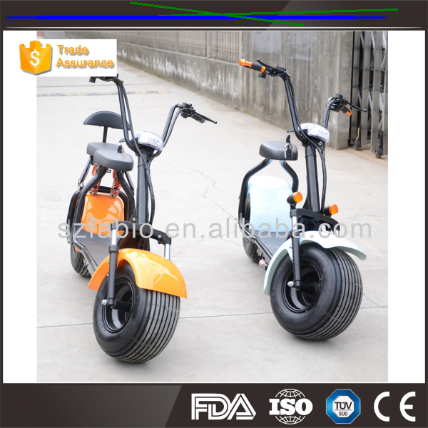 60v city coco/1000w harley scooter/1500w 120kgs load electric scooter